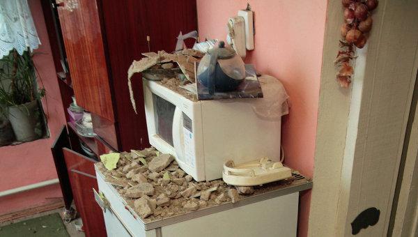 Последствия землетрясения в Кемеровской области