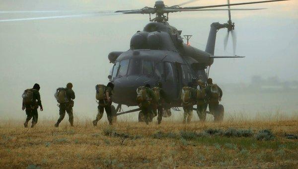 Учения военных Каспийской флотилии. Архивное фото