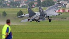 Су-35 на авиасалоне в Ле Бурже