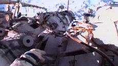 Россияне Юрчихин и Мисуркин провели работы за бортом МКС