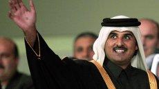 Новый эмир Катара шейх Тамим бен Хамад Аль Тани