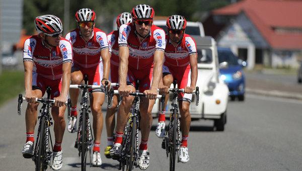 Команда велогонщиков «Катюша» будет считаться швейцарской