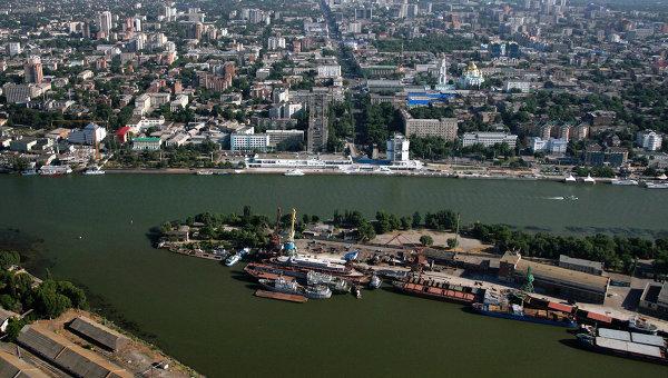 Река Дон в черте города Ростов-на-Дону. Архивное фото