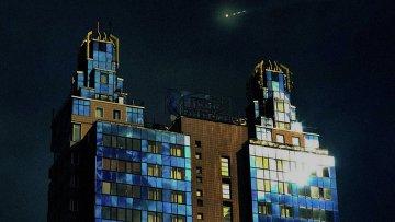 Объекты, похожие на НЛО, замеченные в новосибирском небе