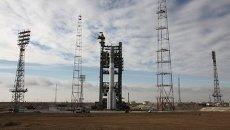 Ракета-носитель Протон М с космическими аппаратами Глонасс-М