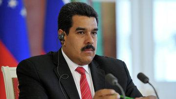Президент Боливарианской Республики Венесуэла Николас Мадуро Морос