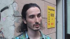Очевидец о первых минутах после взрыва на Невском проспекте в Петербурге