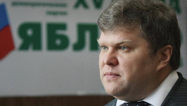 Председатель Яблока Сергей Митрохин. Архивное фото