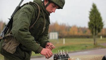 Военные учения. Архив