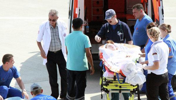 Пострадавшую в ДТП новосибирскую девочку доставили из Турции в Москву