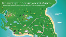 Где отдохнуть летом в Ленинградской области