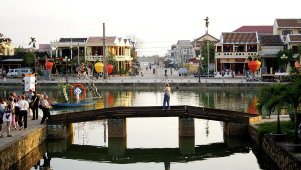 Вьетнамский город Хойан. Архивное фото