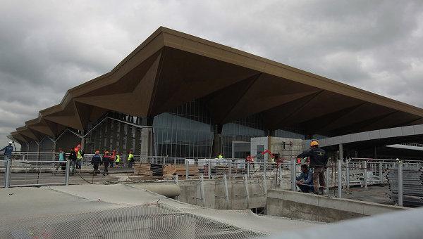 Строящийся терминал Пулково. Архивное фото