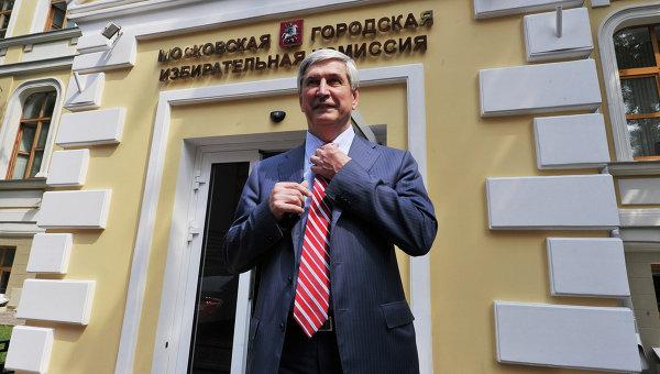 Регистрации кандидата И.Мельникова на должность Мэра Москвы
