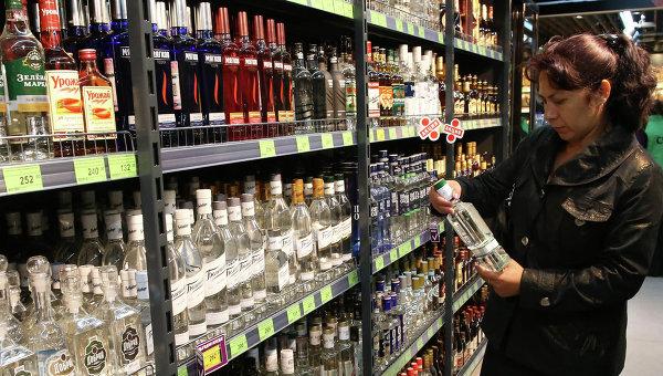 Продажа алкогольной продукции. Архивное фото
