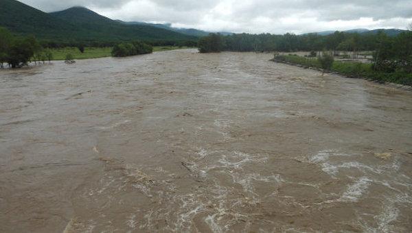 Наводнение в Приморье. Архивное фото