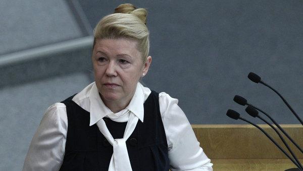 Депутат Елена Мизулина. Архив
