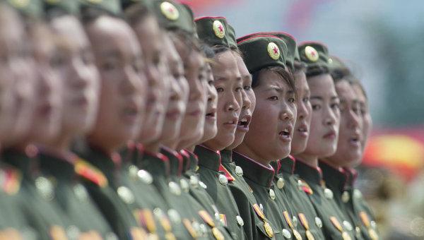 Военнослужащие КНДР, архивное фото