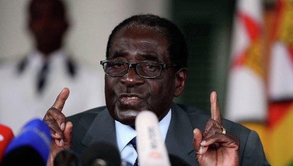Действующий президент Зимбабве Роберт Мугабе