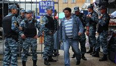 Массовые проверки на московских рынках. Архив