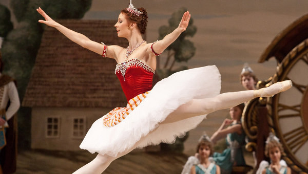 Солистка балета Большого театра Мария Александрова