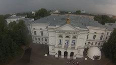 Квадрокоптер томского студента снял ТГУ с высоты птичьего полета