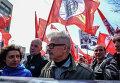 """Эдуард Лимонов на """"Левом марше"""" в Москве"""