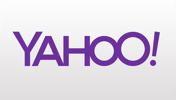 Новый логотип Yahoo. Архивное фото