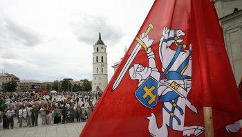 В центре Вильнюса. Архивное фото