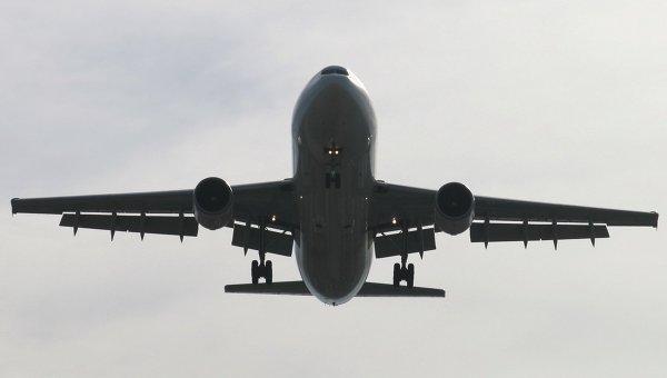 Cамолет Airbus, архивное фото