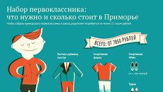 Набор первоклассника: сколько стоит в Приморье собрать ребенка в школу
