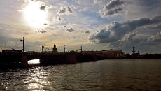 Тучков мост. Архивное фото