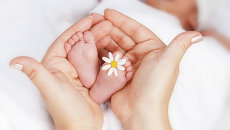 Новорожденный, архивное фото