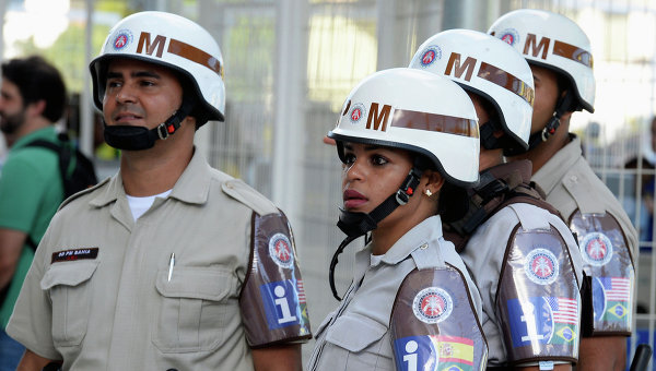 Полиция Бразилии. Архивное фото