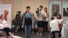 День красоты в роддоме Владивостока: модное дефиле и животы под гжель