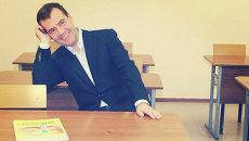 Дмитрий Медведев за школьной партой