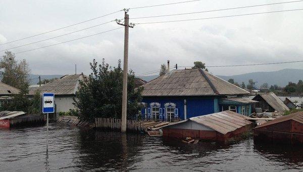Паводок в Комсомольске-на-Амуре. Фото с места события