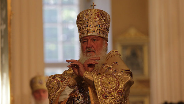 Патриарх Кирилл. Архивное фото