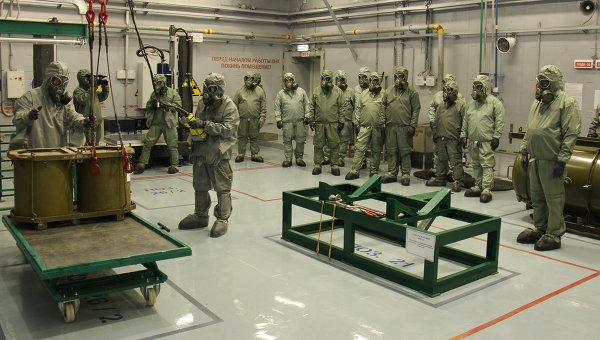 РИА НОВОСТИ: уничтожение химических боеприпасов в Пензенской области