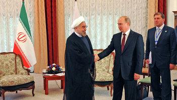 Владимир Путин и Хасан Роухани. Архивное фото
