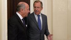 Встреча глав МИД России и Франции. Архивное фото
