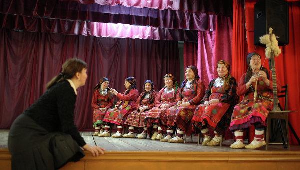Фольклорный коллектив Бурановские бабушки, архивное фото