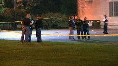Первые кадры с места стрельбы в Чикаго, где были ранены 12 человек