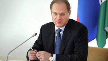 Губернатор Новосибирской области Василий Юрченко. Архивное фото