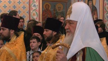Визит патриарха Кирилла в Томск