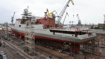 Фрегат проекта 11356 для ВМС Индии Таркаш (Колчан)
