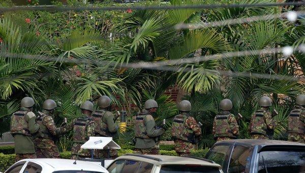 Контртеррористическая операция у торгового центра в Найроби