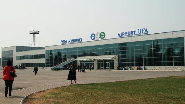 Выехавший запределы ВПП ваэропорту Уфы самолет накренился накрыло