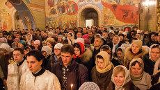 Рождество Христово в Богоявленском Кафедральном соборе, архивное фото