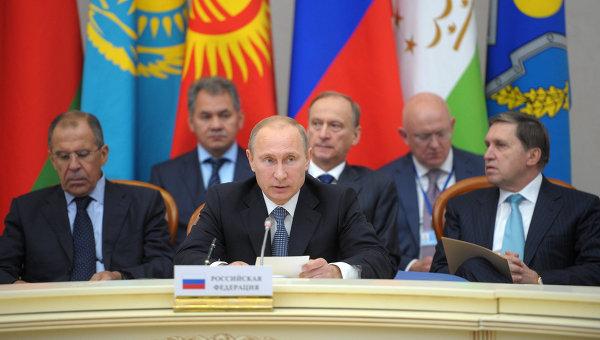 Заседание совета коллективной безопасности ОДКБ. Архивное фото